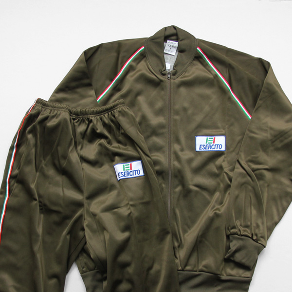 ITALY Military / Training jersey Set Up (Dead Stock/Vintage)