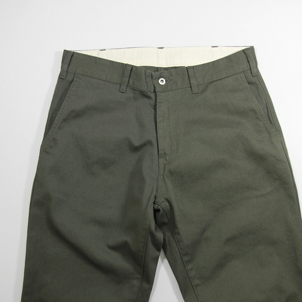Montmorency / Basic Chino - Brisbane Moss Cotton - Olive
