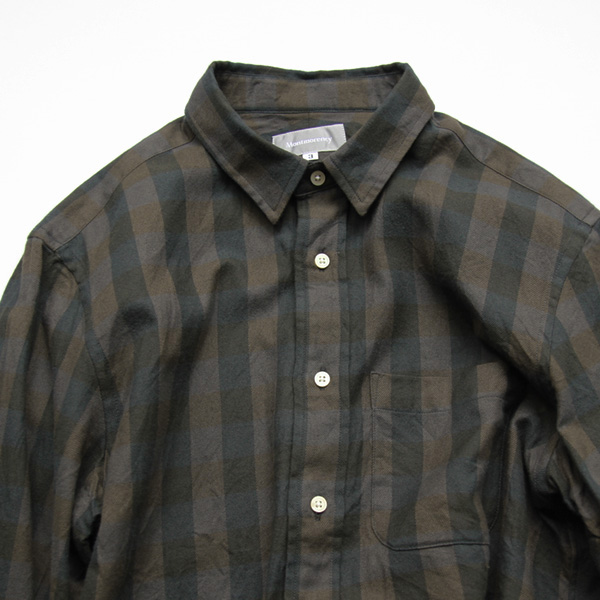 Montmorency / Basic Shirt - Brushed Twill - Brown Check