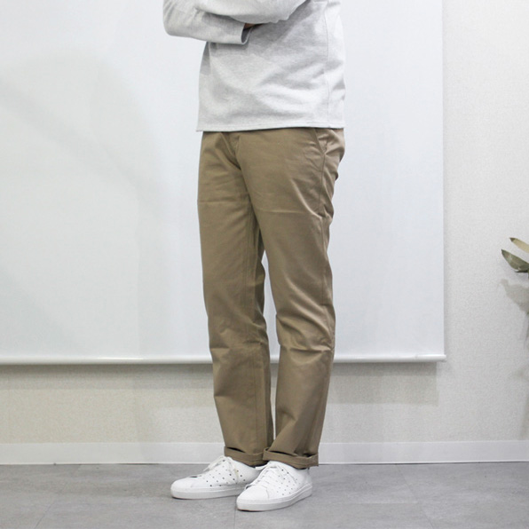 Montmorency / Basic Chino - Cotton Twill - Beige