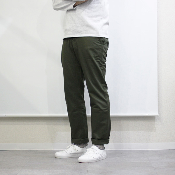 Montmorency / Basic Chino - Cotton Twill - Dk.Green