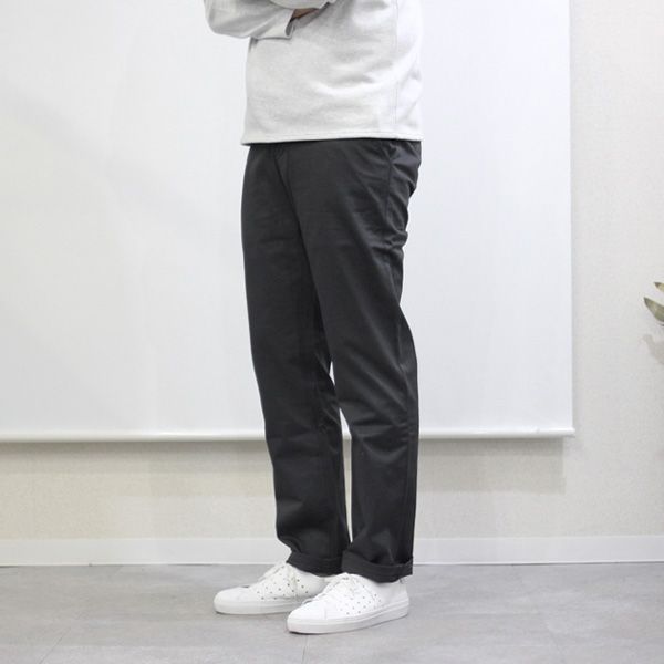 Montmorency / Basic Chino - Cotton Twill - Charcoal