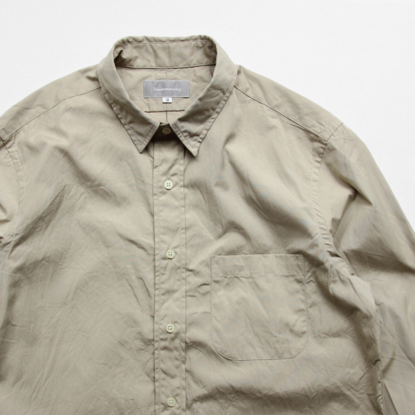 Montmorency / Basic Shirt - Typewriter - Beige