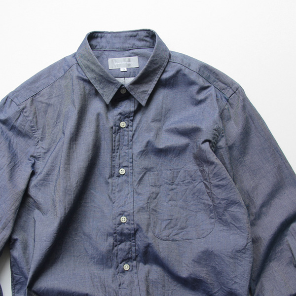 Montmorency / Basic Shirt - Twill - Indigo