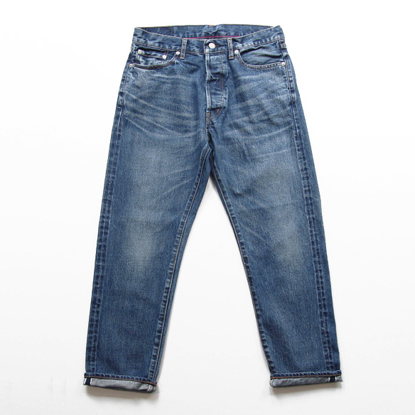 Ordinary fits / 5 Pocket Ankle Denim - 3 Year Used