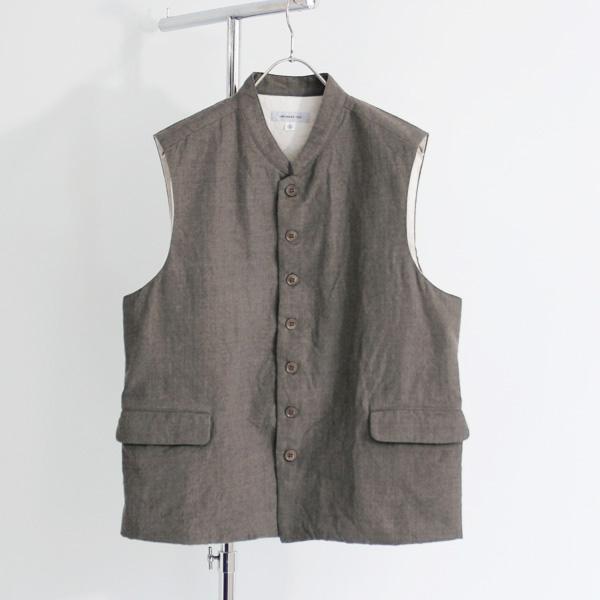 Ordinary fits / Yard Vest - Greige