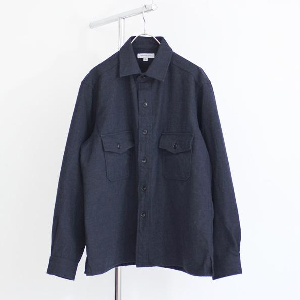 <30% OFF> Ordinary fits / Wool Shirt Jacket - Navy