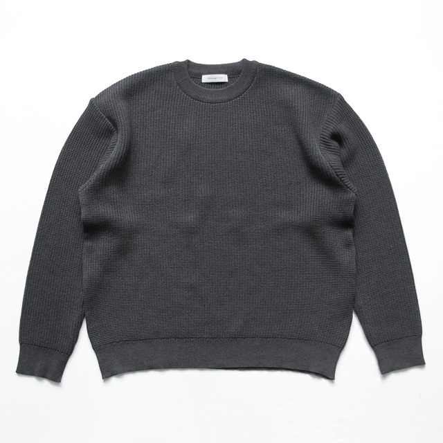 Ordinary fits / Regular Knit - Ink