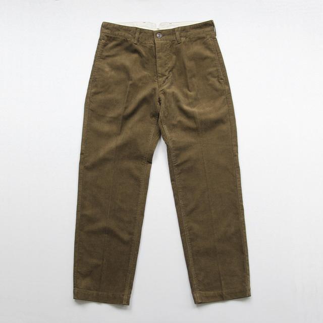 Ordinary fits / Yard Trouser - Corduroy/Brown