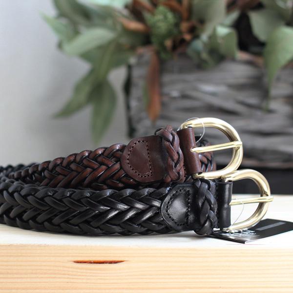 PITTI PELLE / Leather Mesh Belt