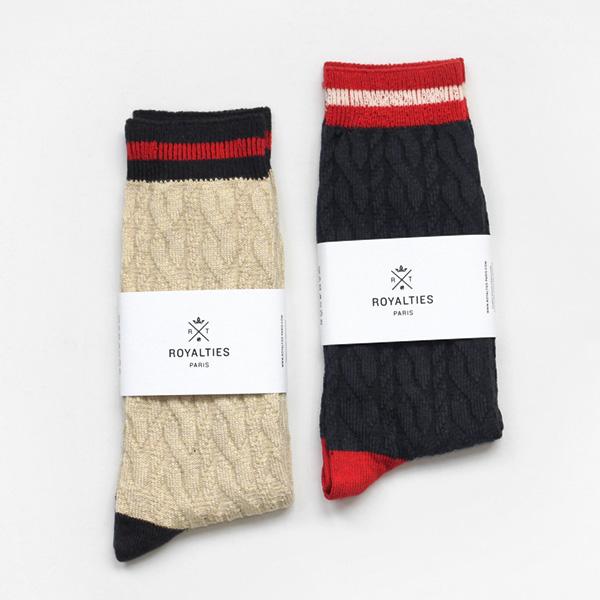 ROYALTIES / Cotton Socks - Cable