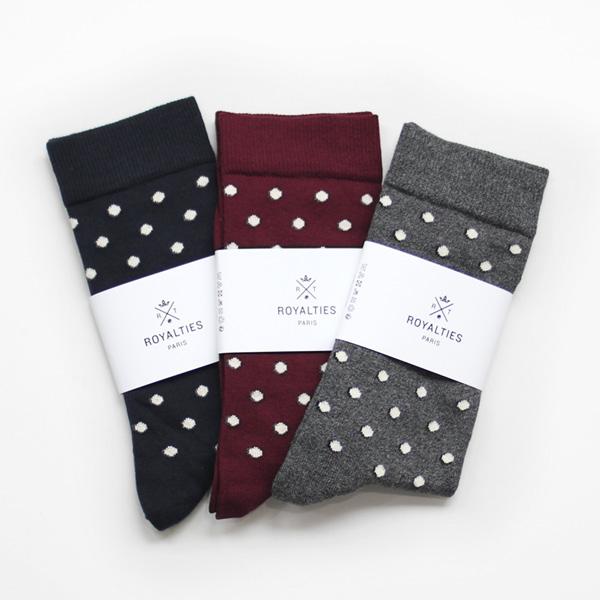 ROYALTIES / Cotton Socks - Dot
