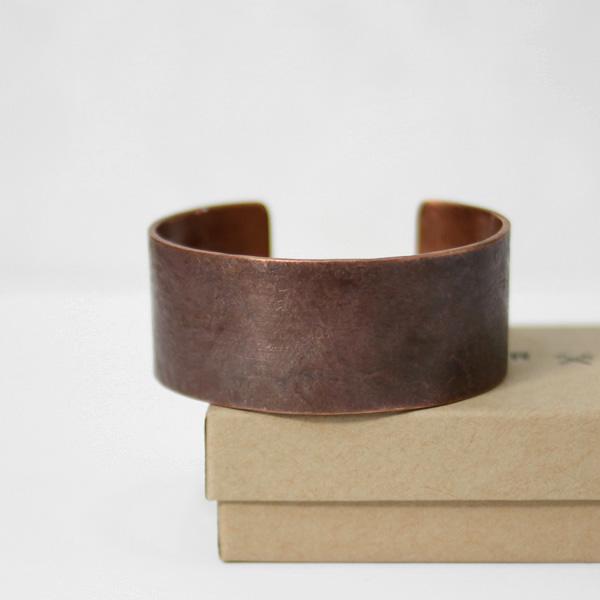 STUDEBAKER METALS / Broad Cuff - Copper