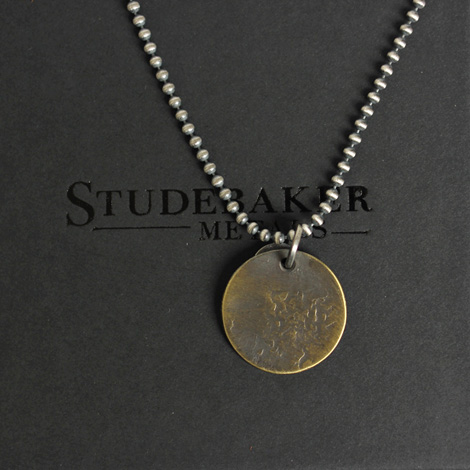 STUDEBAKER METALS / Tag Chain Necklace