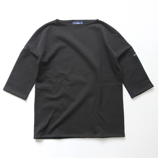 SAINT JAMES / OUESSANT Drop Shoulder - Noir