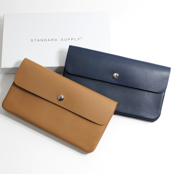 STANDARD SUPPLY / Long Flap Wallet