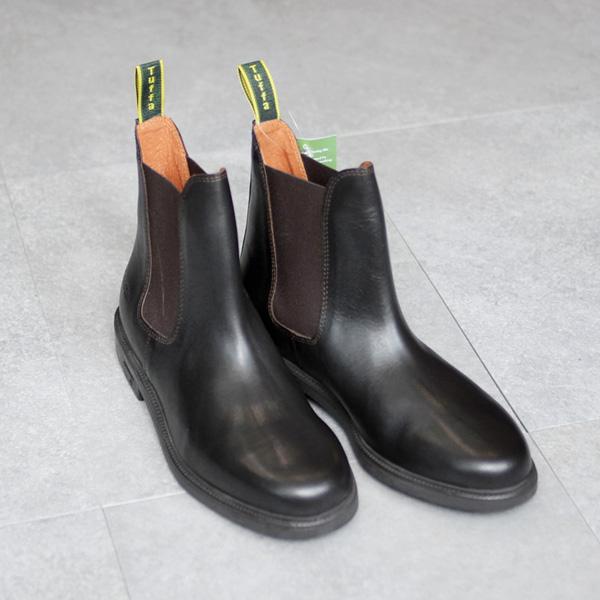 TUFFA / Side Gore Boots - Dk.Brown