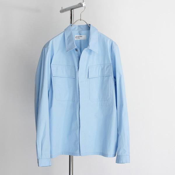 <35% OFF> Universal Works / MW Chore Overshirt - Sky Blue