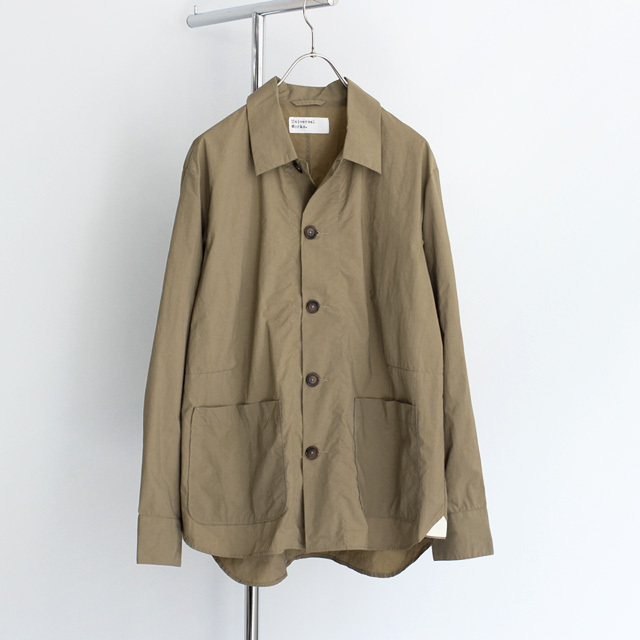 Universal Works / Travail Shirt - Recycled Nylon/Sand