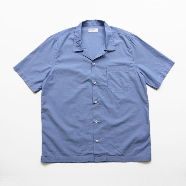Universal Works / Road Shirt - Fine Chambray/Lt.Indigo