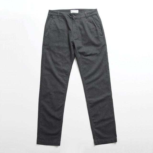 Universal Works / Aston Pant - Cotton Marl Charcoal