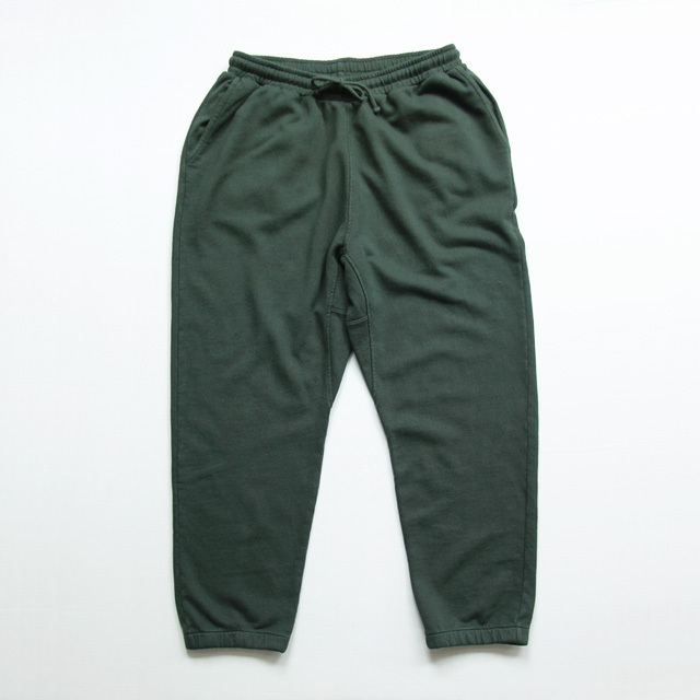 Universal Works / K Track Pant - Dry Handle Loopback Forest Green