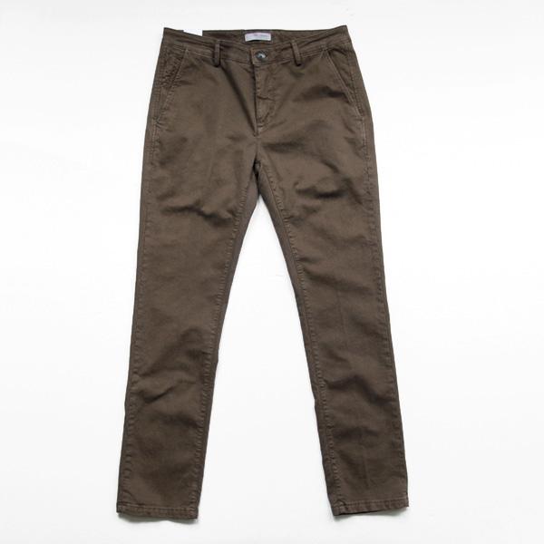 Yan Simmon / Cotton Trouser - Brown