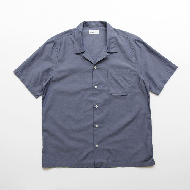Universal Works / Road Shirt - Fine Chambray/Dk.Indigo
