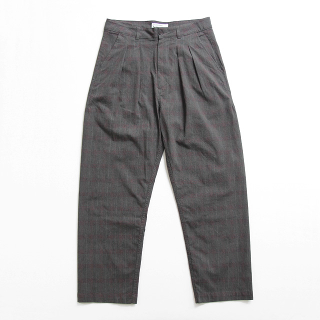 Universal Works / Double pleat Pant - Wales Check