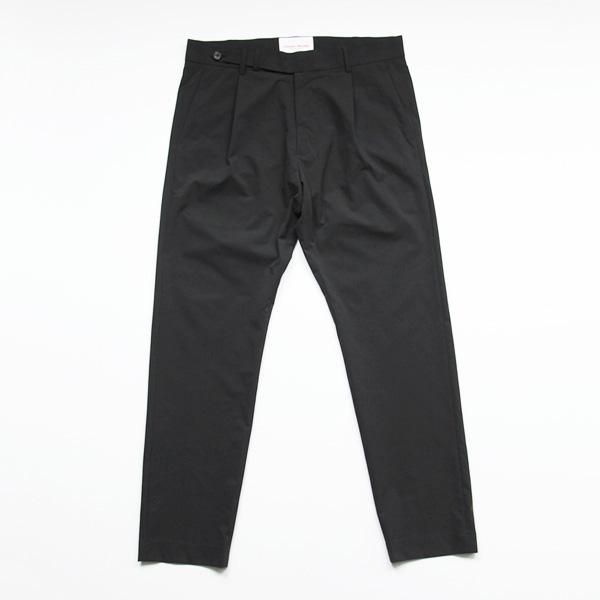Vincent et Mireille / Slim Stretch Work Pants - Black