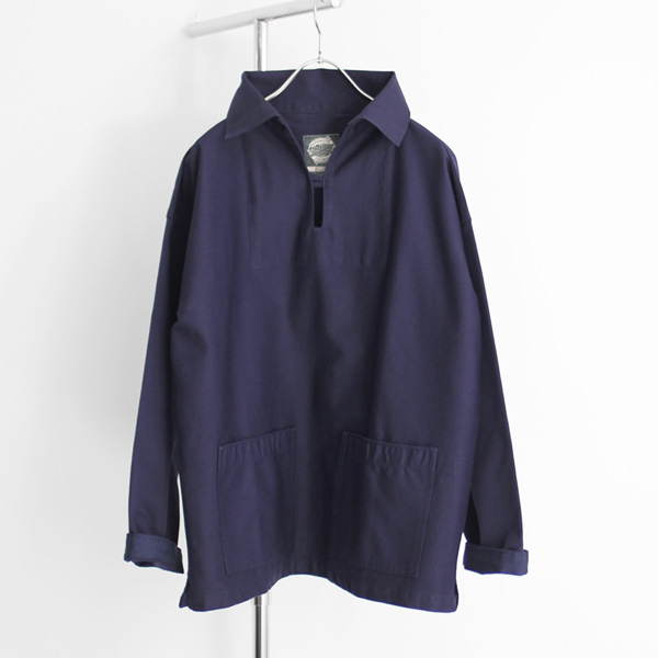 Yarmouth Oilskins / The Collares Smock - Navy