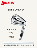 ダンロップ スリクソン Z565 アイアン6本アセット [N.S.PRO 980GH DST スチールシャフト フレックス:R ] 特注スペック SRIXON