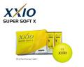 ダンロップ ゼクシオ SUPER SOFT X [プレミアムイエロー]  1ダース XXIO