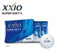 ダンロップ ゼクシオ SUPER SOFT X [ホワイト]  1ダース XXIO