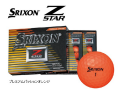 ダンロップ スリクソン Z-STAR 2017年モデル [プレミアムパッションオレンジ] 1ダース