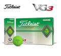 タイトリスト VG3 マットグリーン 1ダース  Titleist  ゴルフボール
