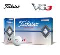 タイトリスト VG3 レインボーパール 1ダース  Titleist  ゴルフボール
