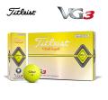 タイトリスト VG3 イエローパール 1ダース  Titleist  ゴルフボール