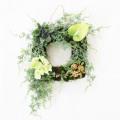 多肉植物リース 観葉植物リース【送料無料】アーティフィシャルフラワー(造花)