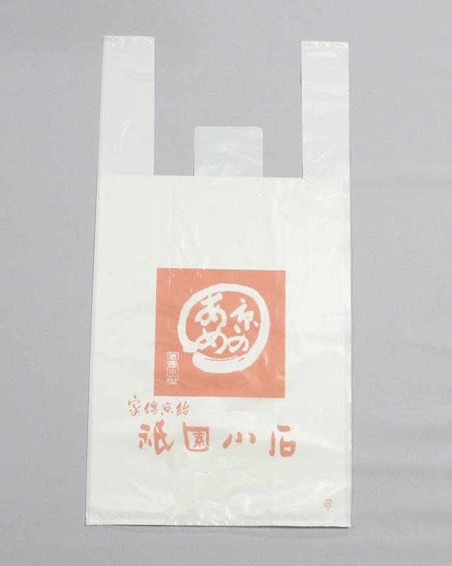 手さげ袋(ビニール) サイズ:たて30cm×横22cm