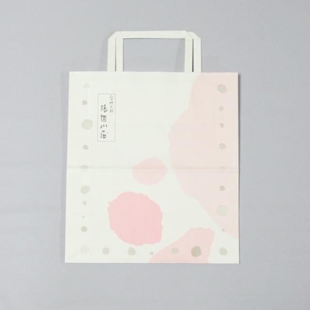 手さげ袋(小)  紙  サイズ:たて25cm×横22cm×マチ12cm