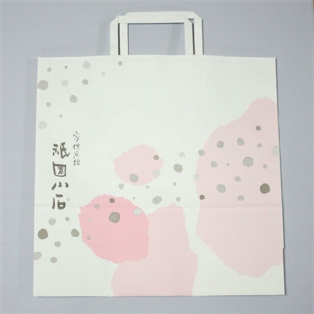 手さげ袋(中) 紙   サイズ:たて32cm×横32cm×マチ11.5cm