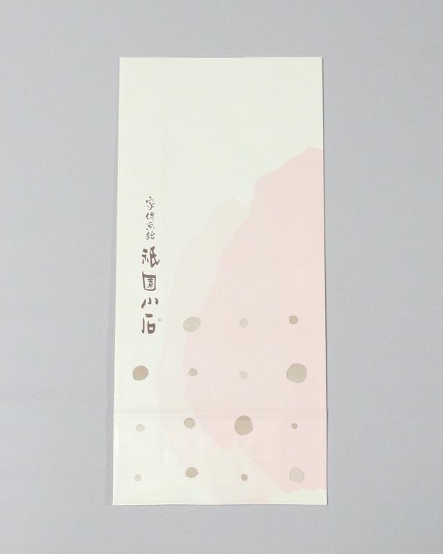 小袋まちあり( 紙 ) サイズ:たて32.5cm×横15cm×マチ6.5cm
