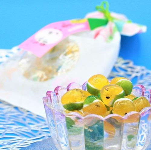 黄色いすいか飴(パイン味)