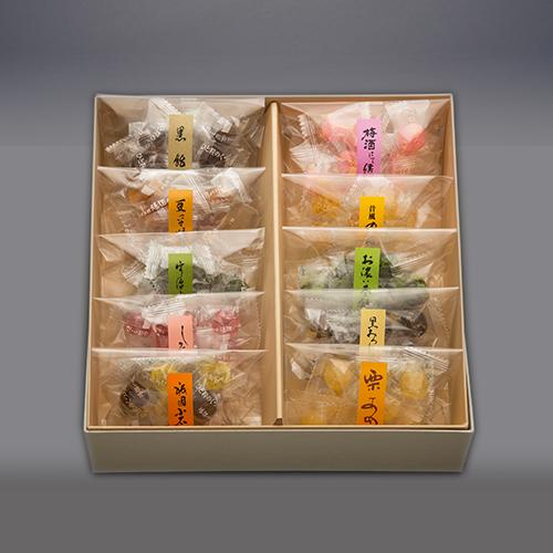 京の彩 京飴10種