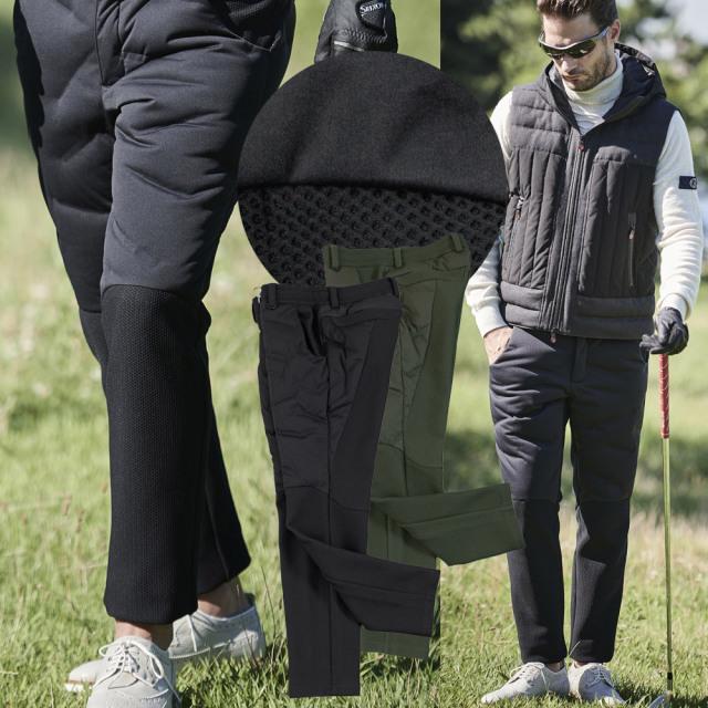 ダウン&ハニカムジャージコンビデザインパンツ 210506 G-stage ジーステージ ゴルフ