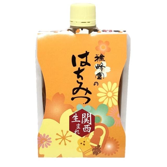 【BeeBlessオリジナル】 雅蜂園のはちみつ 関西生まれ 200g