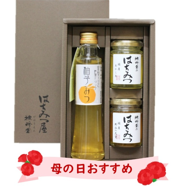 母の日国産蜂蜜ギフト