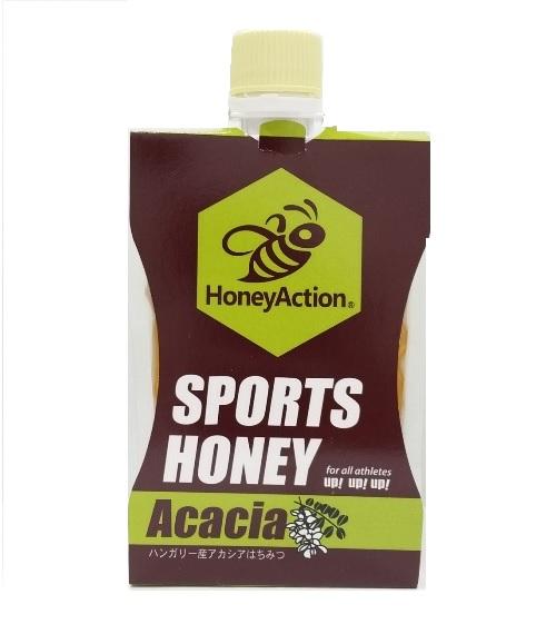 ★新商品★【ハニーアクションシリーズ】HoneyAction SoprtsHoney スポーツハニーアカシア 150g