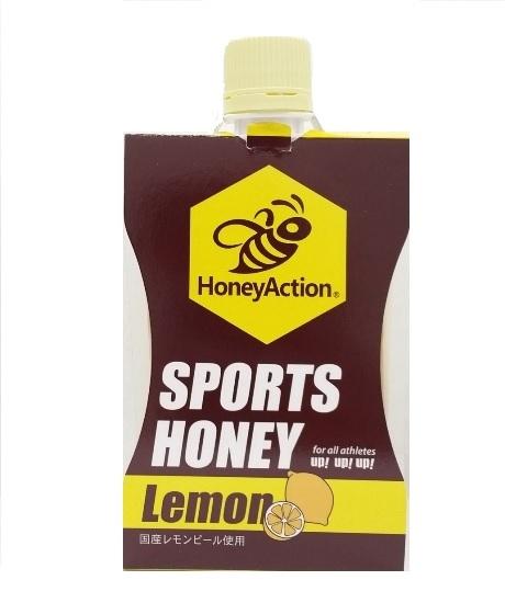 ★新商品★【ハニーアクションシリーズ】HoneyAction SoprtsHoney スポーツハニーレモン 150g
